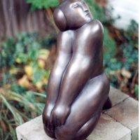 Kneeling Figure